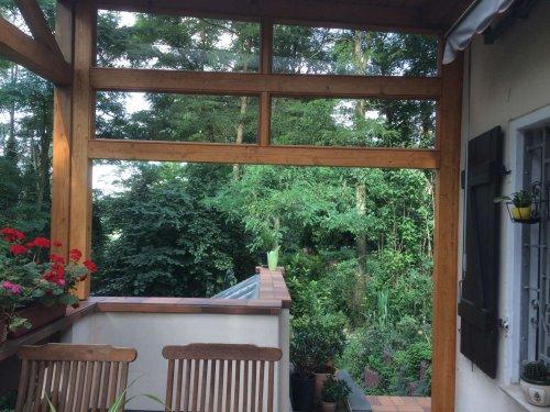 Sonnenschutzverglasung Vordach