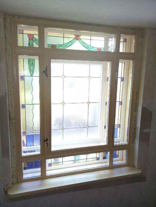Neubau Innenfenster Denkmalschutz