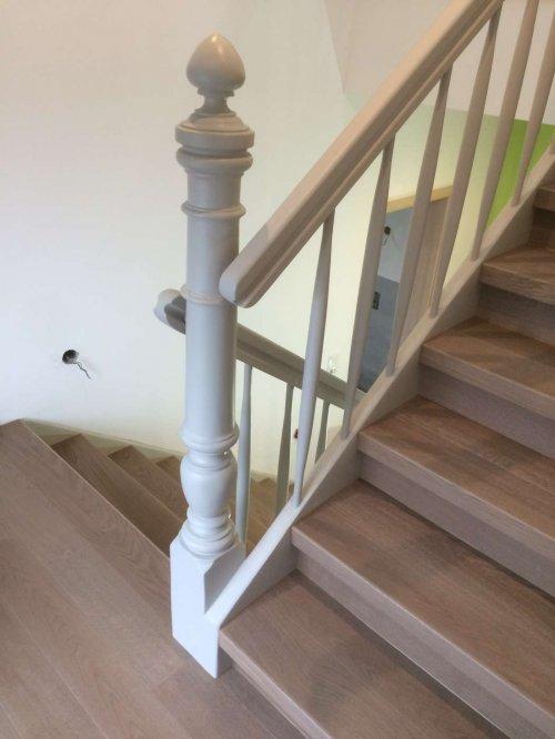 Wiederaufwertung Treppenhaus