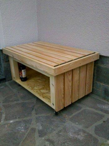 Mobile Sitzbank
