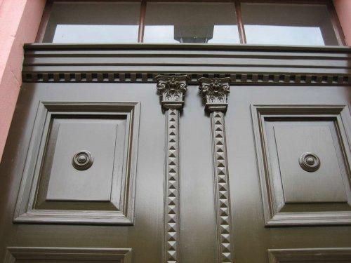 Nachbau Historische Hauseingangstür